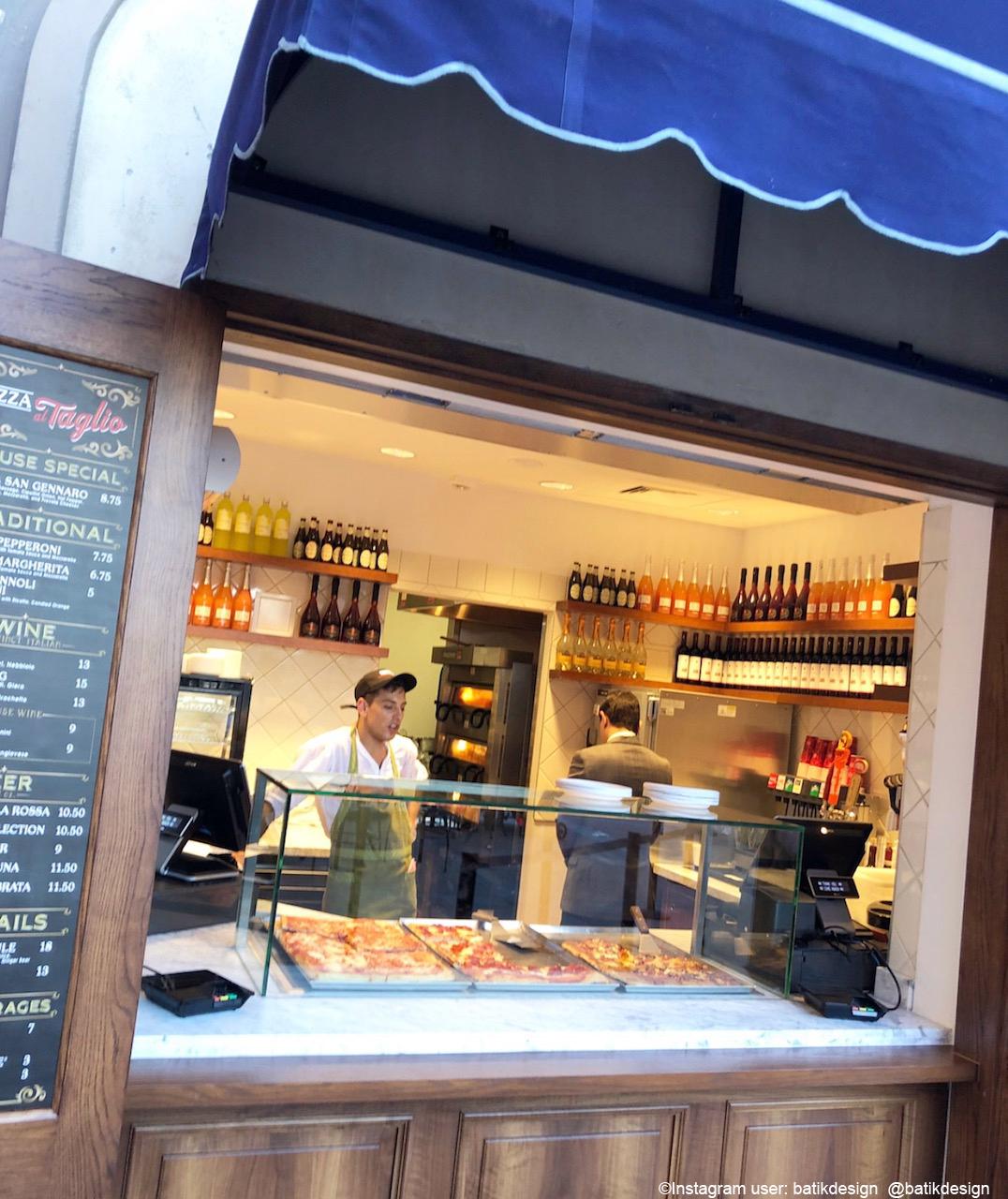 Pizza Al Taglio Counter-Service Window Now Open In Epcot's