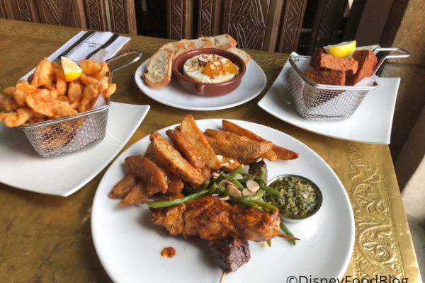 Review:  Unique Eats at Epcot's Spice Road Table in Walt Disney World!