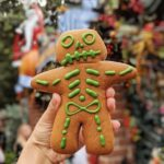 Two NEW Sweet Halloween Eats in Disneyland: Marshmallow Donut and Skeleton Gingerbread Man!