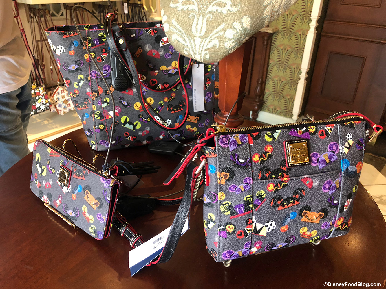 newest 45c0a 887ce Perfectly Evil Villain Ear Hat Dooney and Bourke Collection Found in the  Magic Kingdom