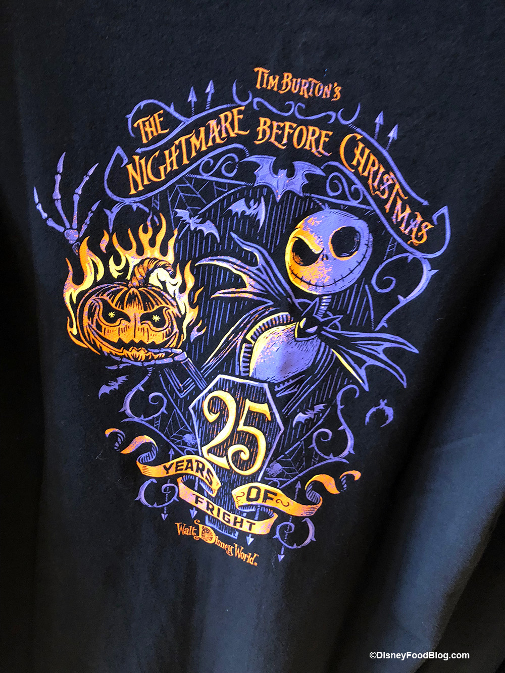 New Nightmare Before Christmas 25th Anniversary Merchandise The