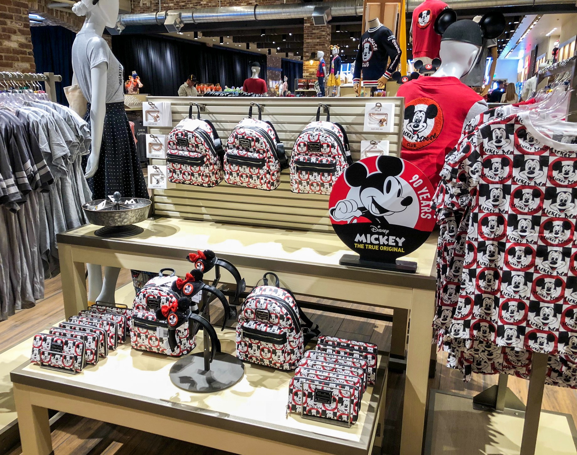 First look new mickey mouse club collection arrives at world of disney in disney springs the - Disney store mickey mouse ...