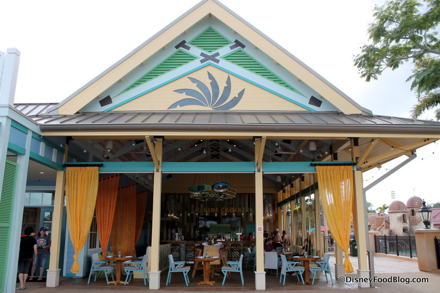 Disney S Caribbean Beach Resort Restaurants