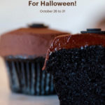 Black Velvet Cupcake at Sprinkles in Disney Parks Through October 31!
