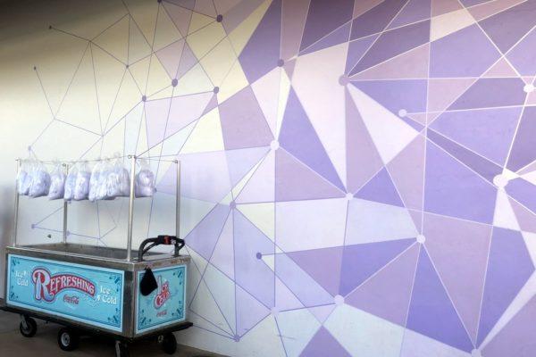 Purple Wall Cotton Candy in Magic Kingdom??