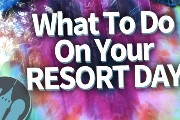 DFB Video: What To Do On Your Walt Disney World Resort Day