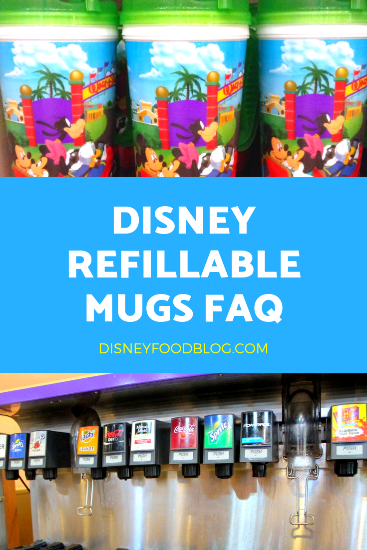 Disney Refillable Mugs FAQ