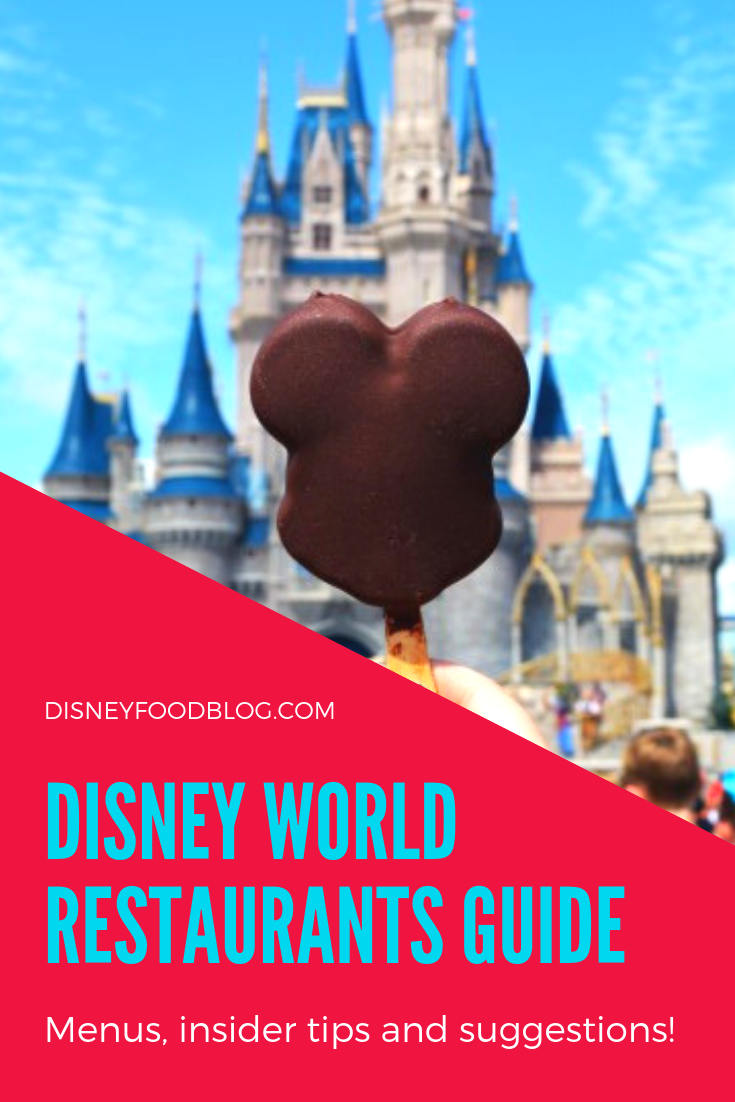 Disney World Restaurants Guide