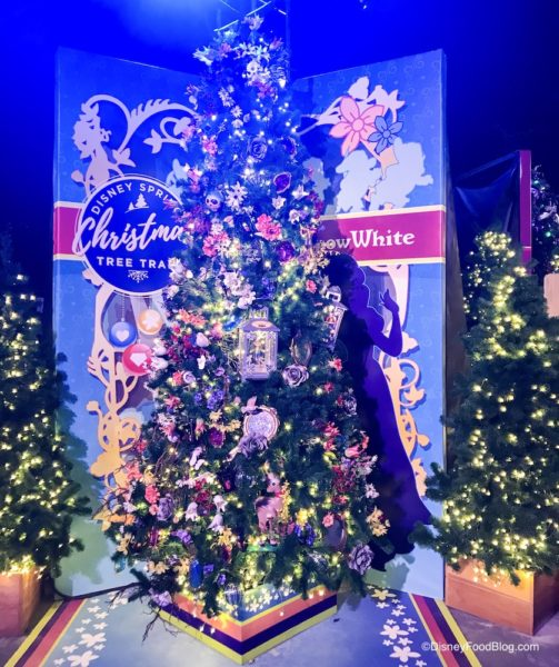 It S Here The Disney Springs Christmas Tree Trail Take A Tour With Us