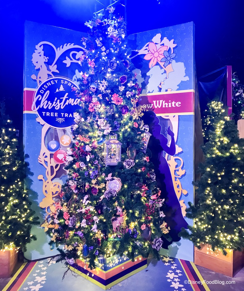 It S Here The Disney Springs Christmas Tree Trail Take A Tour With