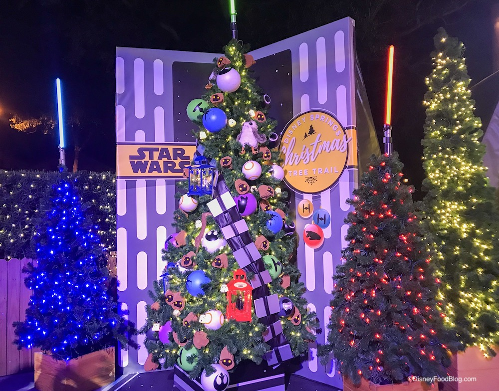 Disney Christmas Trees