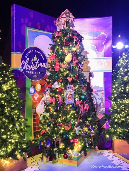 Plutos Christmas Tree.It S Here The Disney Springs Christmas Tree Trail Take A