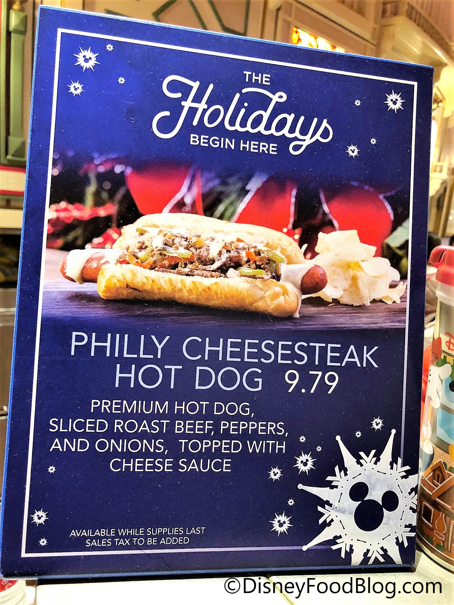 Review: Holiday Cheesesteak Dog at Refreshment Corner in