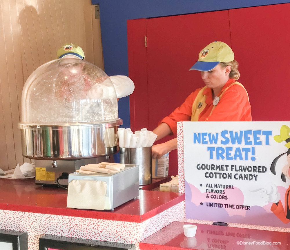 how to make gourmet cotton candy flavors