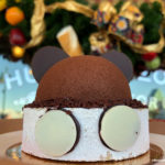 Celebrating Mickey's 90th: Steamboat Willie Heritage Mickey Mousse at Boardwalk Bakery