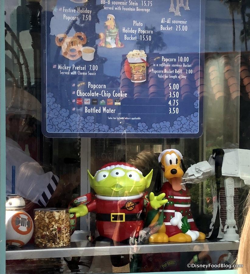 Christmas Alien Disney Popcorn Bucket 2020 ALERT! Santa Alien Popcorn Bucket Has Been Spotted in Disney's