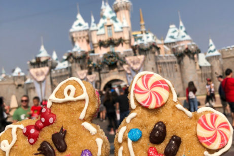 Holiday Krispy Treats in Disney Parks — Including a NEW Rudolph Treat You'll Love!