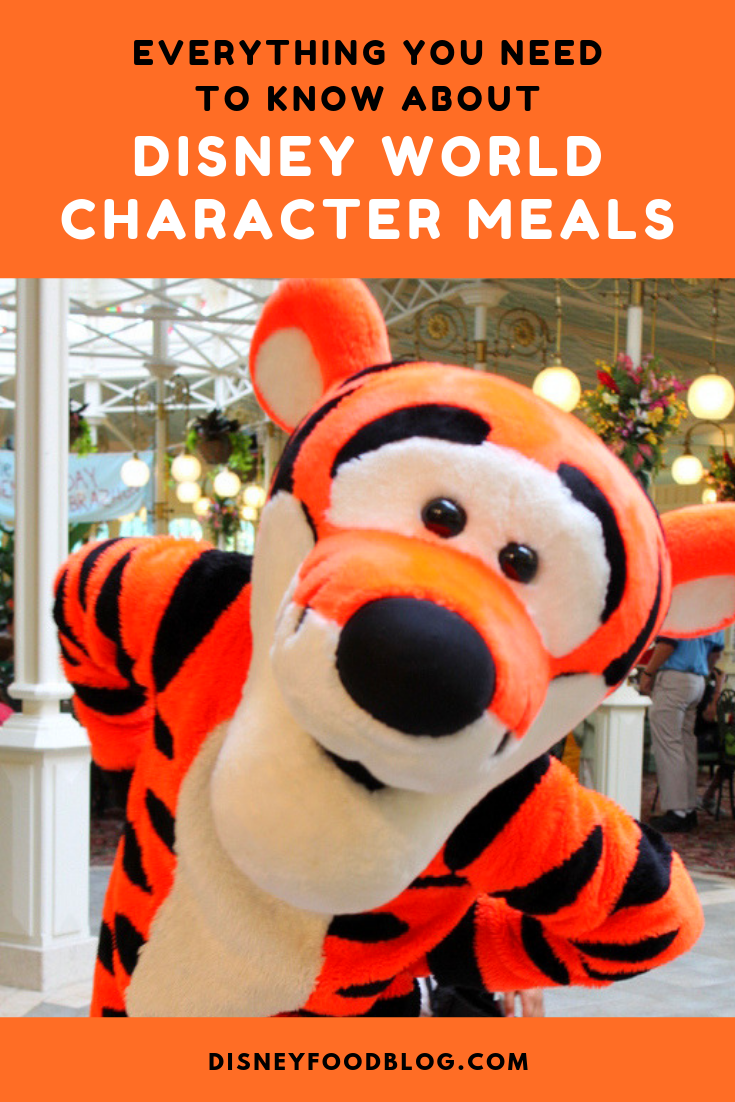 everything you need to know about disney world character meals