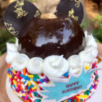 Mickey Mouse Happy Birthday Gateau at Animal Kingdom Lodge's The Mara