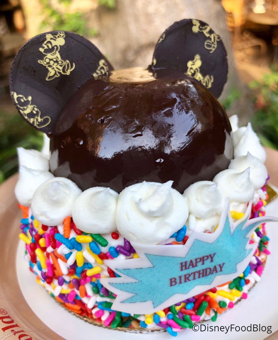 Happy Birthday Mickey Mouse Cake Images
