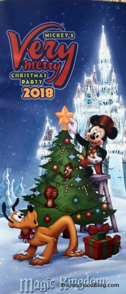 mickeys very merry christmas party map - Mickeys Christmas