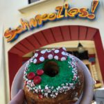 News and Review: Minnie Wreath GIANT Donut in Disney California Adventure