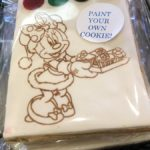 Paint Your Own Minnie Cookie at Disney World's Beach Club Marketplace