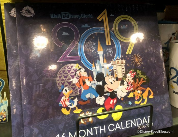 New Gear For The New Year Check Out The 2019 Walt Disney