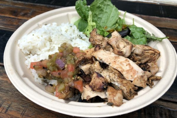 Review: New Bowls — Ribs, Chicken, and Roasted Vegetable — at Harambe Market in Animal Kingdom