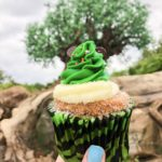 Review: Festive Mickey Christmas Tree Cupcake at Disney's Animal Kingdom!