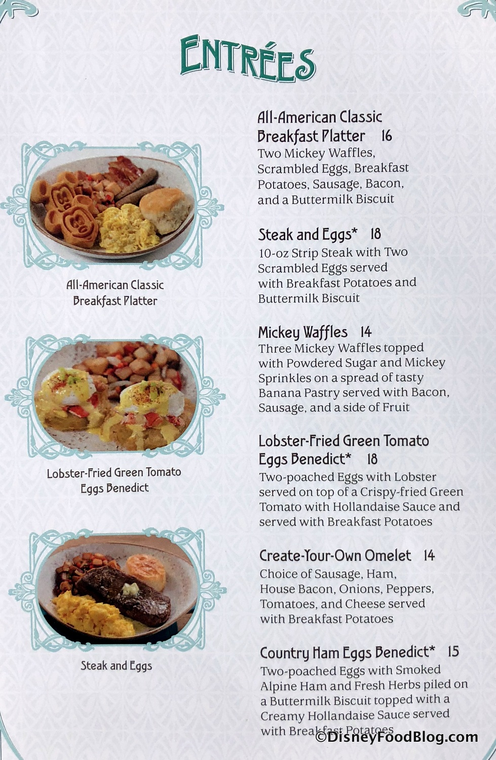 What S For Breakfast Lunch And Dinner At The Plaza Restaurant In Magic Kingdom The Disney Food Blog