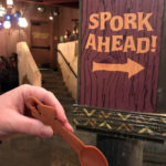 """Put A Spork In It!"" at The Tropical Hideaway in Disneyland"