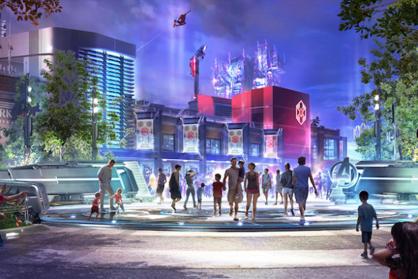 New Concept Art Revealed for Marvel Lands and Experiences at Disney Parks Around the World