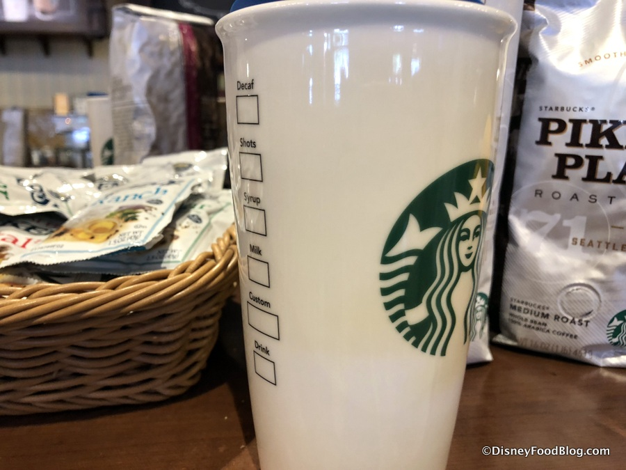 Yo Ho Magic Kingdom Starbucks Ceramic Tumbler Celebrates
