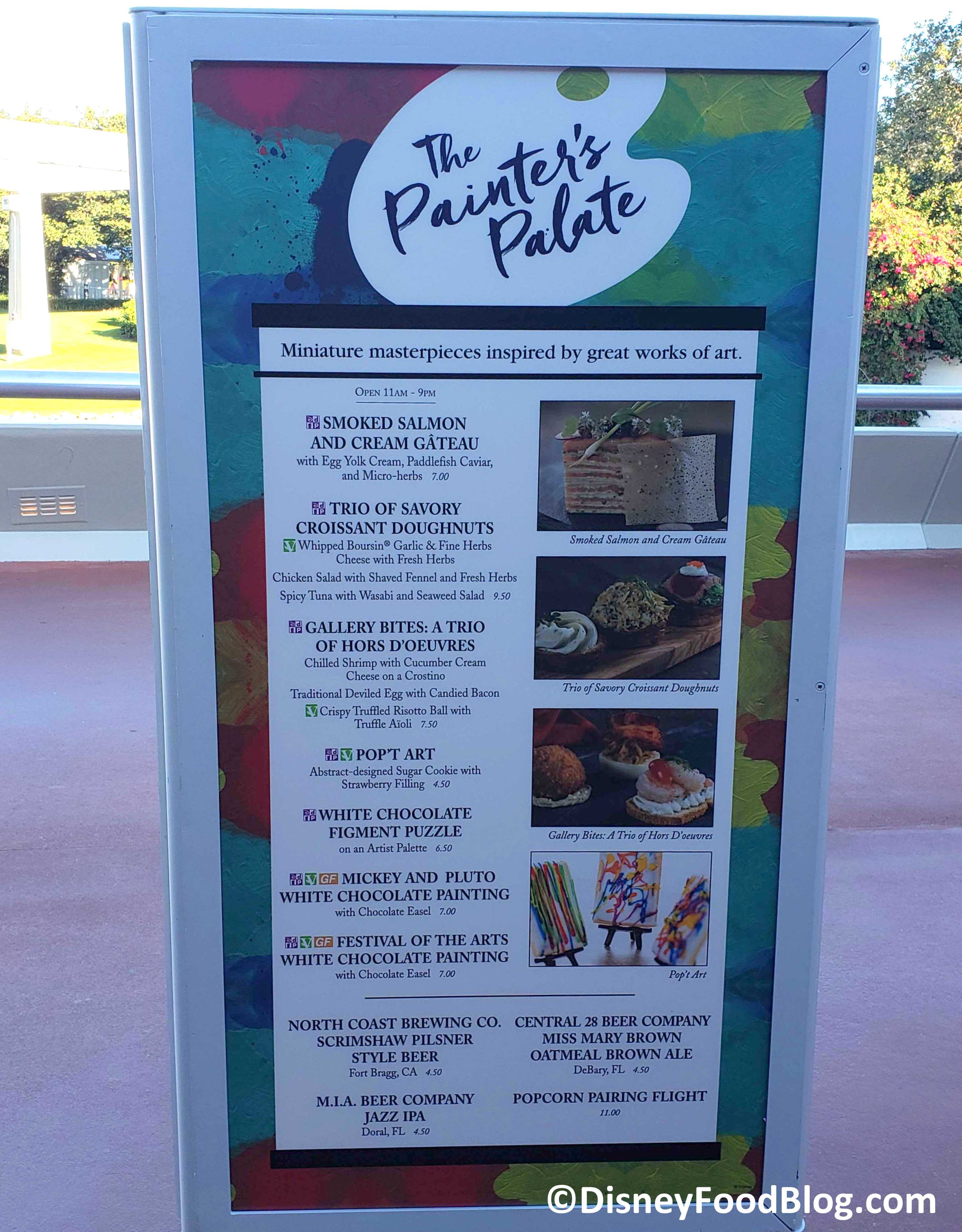 Epcot Festival Of The Arts 2020.2020 Epcot Festival Of The Arts The Painter S Palate