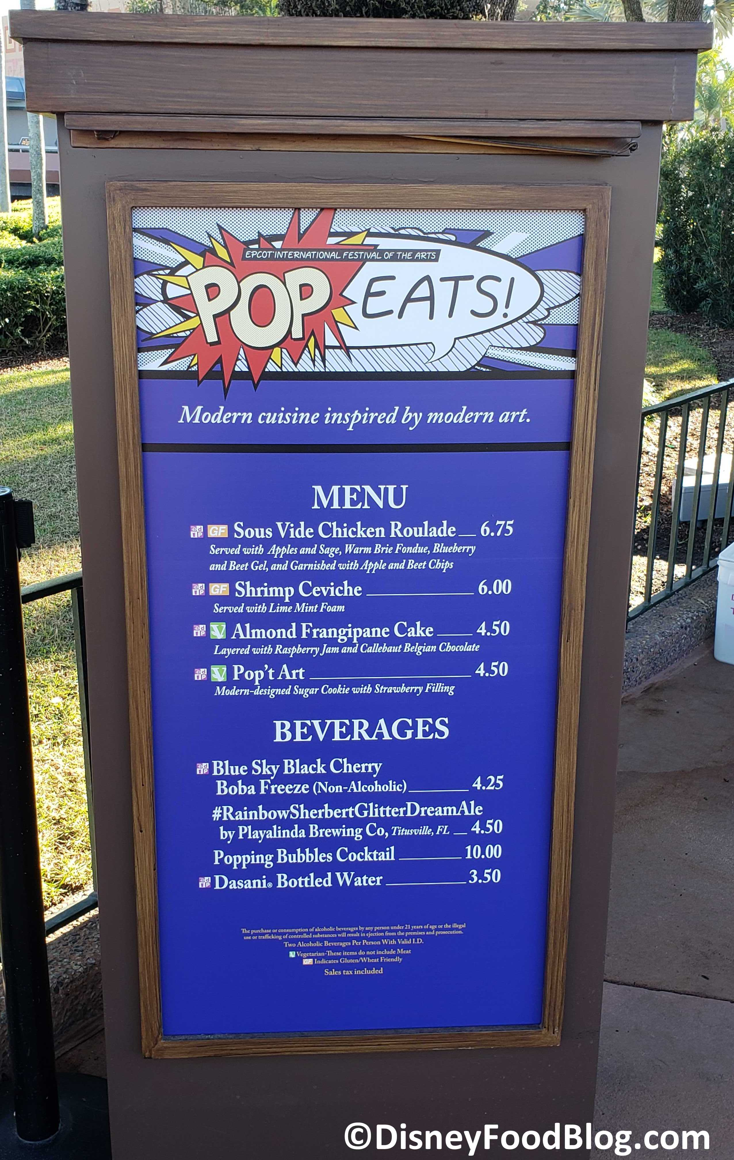 Epcot Festival Of The Arts 2020.2020 Epcot Festival Of The Arts Pop Eats