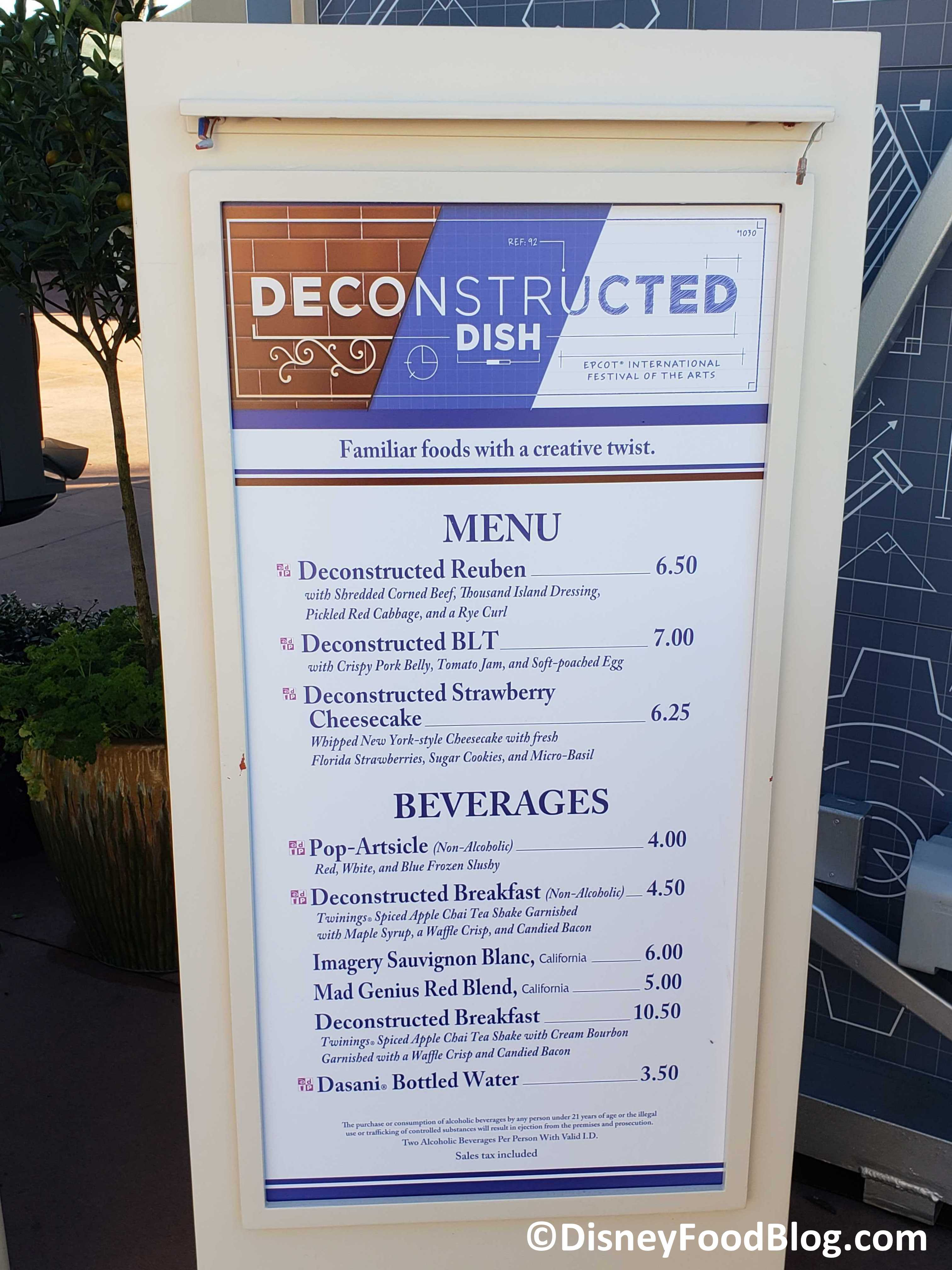 Epcot Festival Of The Arts 2020.2020 Epcot Festival Of The Arts The Deconstructed Dish