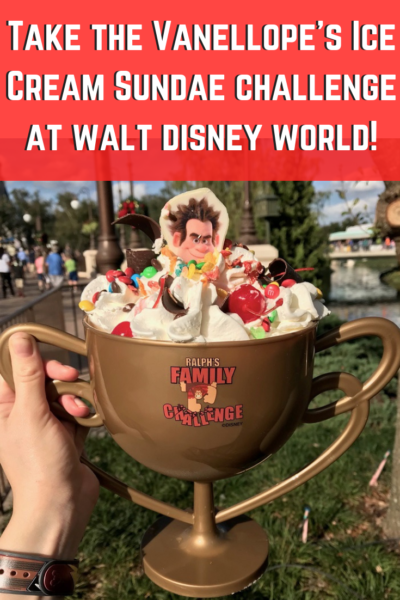 Can You Wreck It_ Take the Vanellope's Ice Cream Sundae challenge at Walt Disney World!