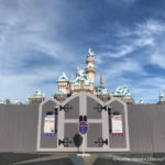 News! Construction Walls Are Up Around Sleeping Beauty Castle in Disneyland