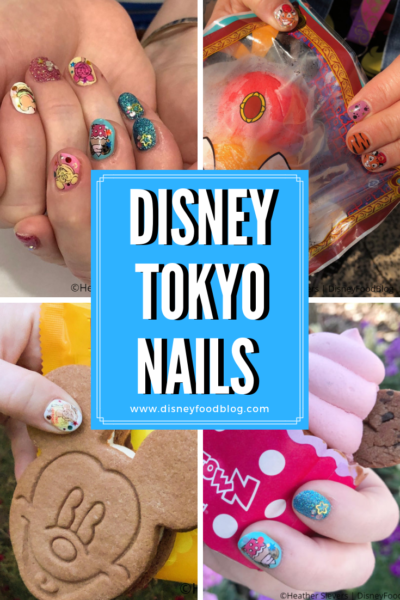 The Cutest Disney Tokyo Nails