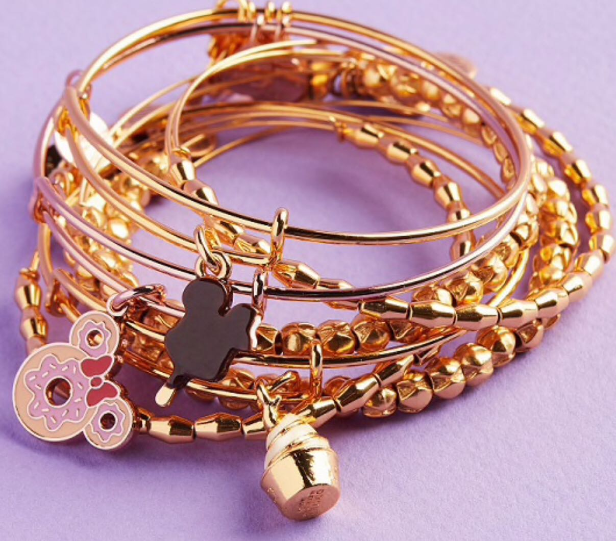 News Alex And Ani Disney Food Themed Bracelets Coming To