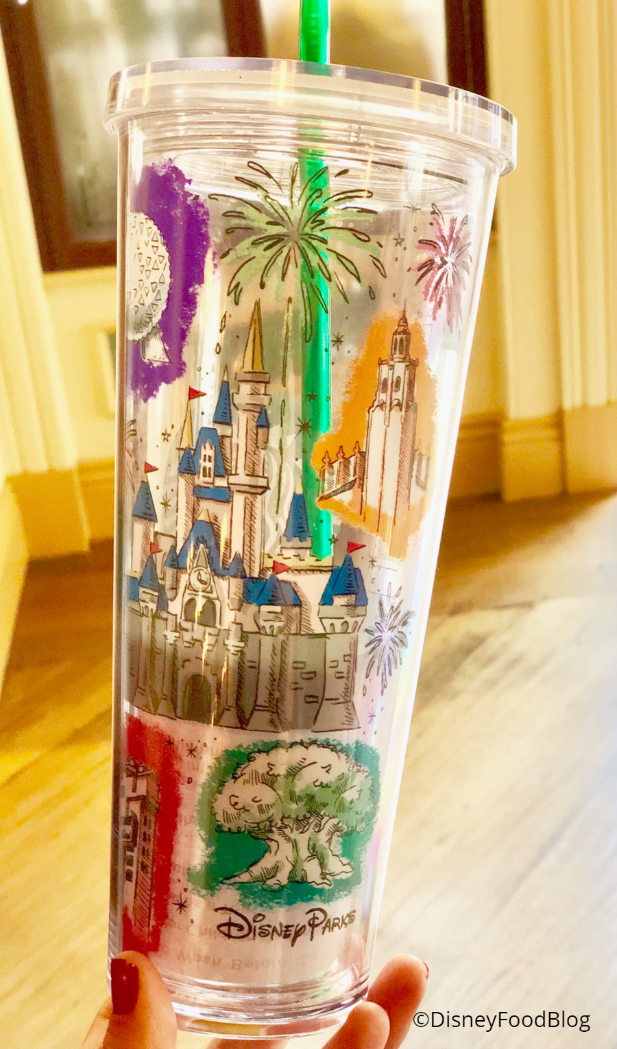 You Ve Got To See The New Tumbler At Disney Starbucks