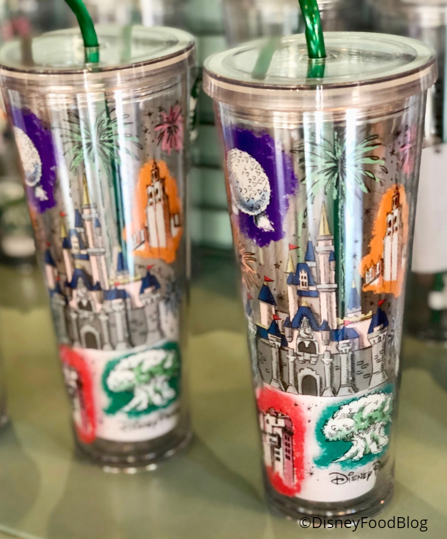 You Ve Got To See The New Tumbler At Disney Starbucks Locations The Disney Food Blog