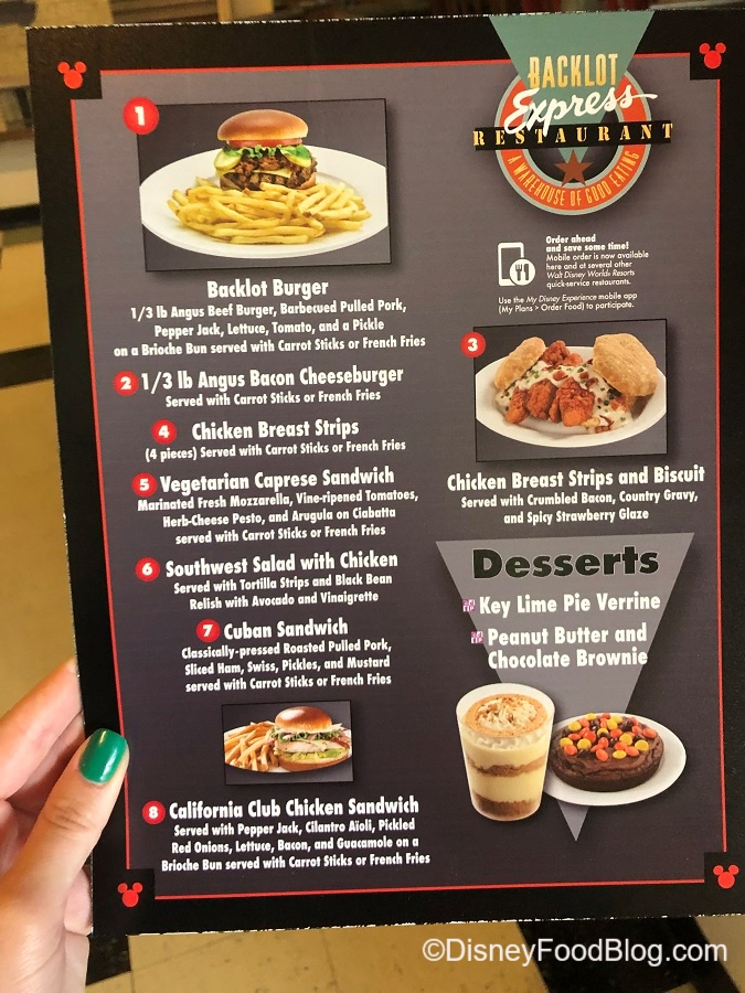 What S New In Hollywood Studios New Menus New Merchandise