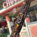 Disneyland Food Review: Celebration Mickey Chocolate Churro for Get Your Ears On!
