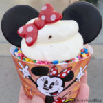 Disneyland Food Review: Minnie Chocolate Chip Cookie Cupcake in Mickey's Toontown!
