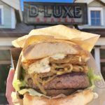 Review! Limited Time Caribbean Burger and Tostones at D-Luxe Burger in Disney Springs