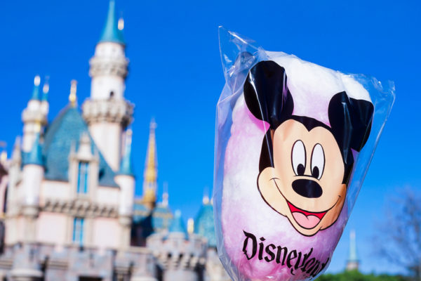 Cherry Cotton Candy Is Back at Disneyland For Valentine's Day!