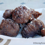Disneyland Review: Double Chocolate Fritters at Royal St Veranda