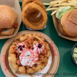 Review: A Valentine's Day EXCLUSIVE Funnel Cake at Disneyland's Hungry Bear!